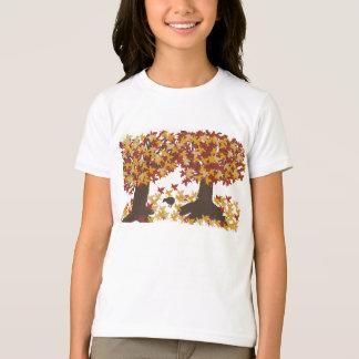 Autumn Trees Girls T-Shirt