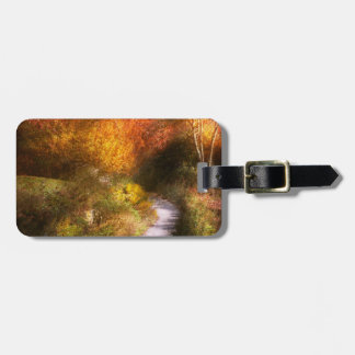 Autumn - Trees - Heaven's trail Bag Tag