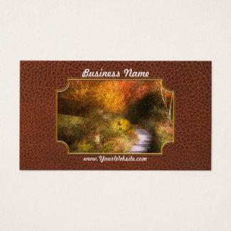 Autumn - Trees - Heaven's trail Business Card