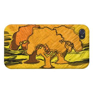 AUTUMN TREES iPhone 4 CASES