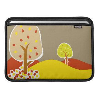 Autumn Trees MacBook Sleeve