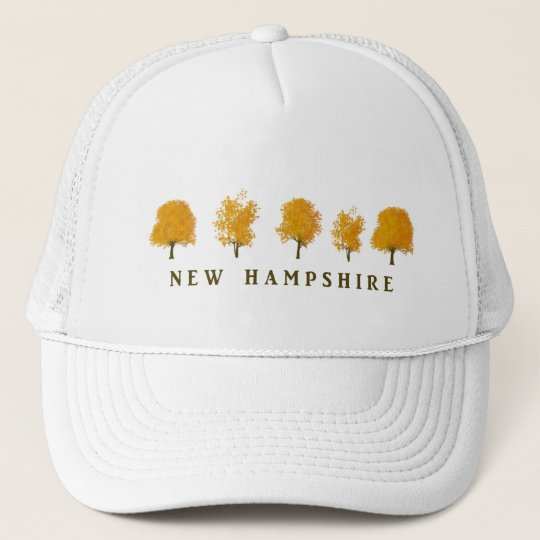 Autumn Trees - NH Trucker Hat
