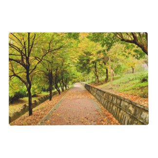 Autumn Trees Placemat
