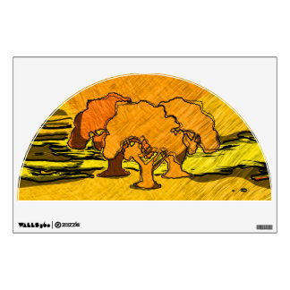 AUTUMN TREES Wall Decal