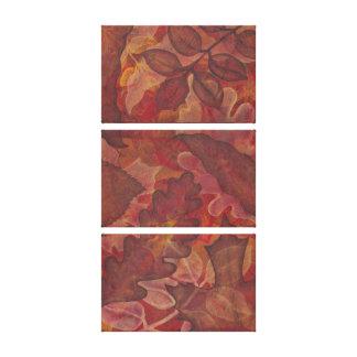 Autumn Trio art canvas prints