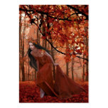 Autumn Tryst Gift Tag Business Card