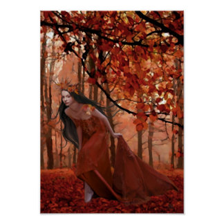 Autumn Tryst Poster
