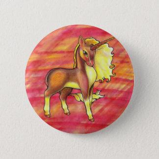 Autumn Unicorn Button