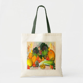 AUTUMN VEGETABLES ~  Budget Tote Tote Bag