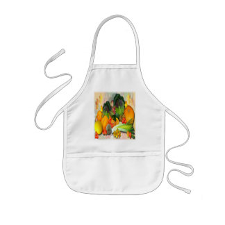 AUTUMN VEGETABLES   ~ Kids  Apron
