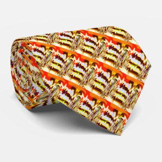 Autumn vibrations tie