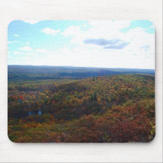 Autumn view mouse pad