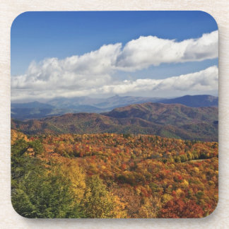 Autumn view of Southern Appalachian Mountains Drink Coasters
