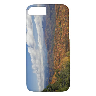 Autumn view of Southern Appalachian Mountains iPhone 8/7 Case