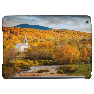 Autumn View Of The Community Church In Stowe iPad Air Covers