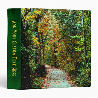 Autumn Walk 3 Ring Binder