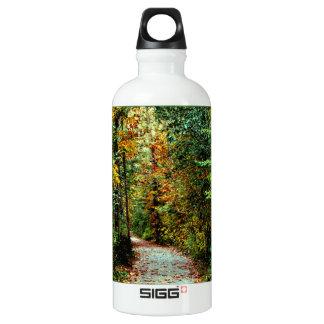 Autumn Walk Aluminum Water Bottle