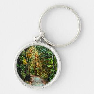 Autumn Walk Keychain