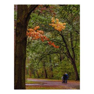 Autumn walk letterhead