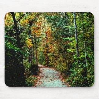 Autumn Walk Mouse Pad