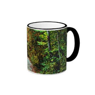 Autumn Walk Ringer Coffee Mug