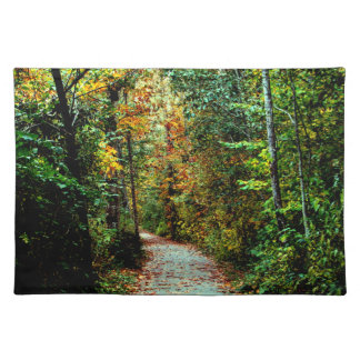 Autumn Walk Cloth Placemat