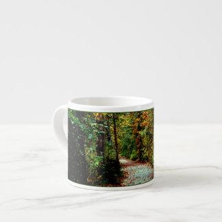 Autumn Walk 6 Oz Ceramic Espresso Cup