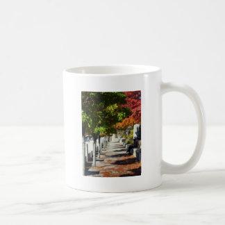 Autumn Walkway Classic White Coffee Mug
