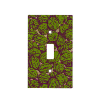 Autumn Walnut Shells Light Switch Cover