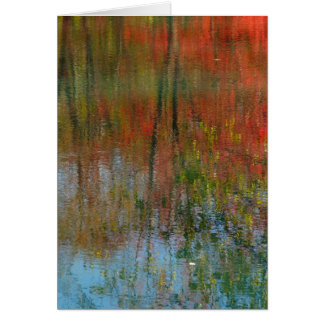 """""""Autumn Water Color"""" all occasion photography card"""