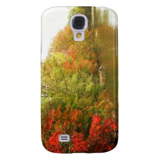 Autumn Water Landscape, Central Park Galaxy S4 Case