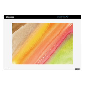 "Autumn watercolor 15"" laptop decals"