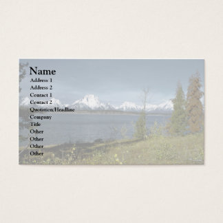 Autumn Waters Business Card