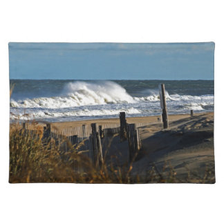 Autumn Waves and Dunes at the Beach Placemat