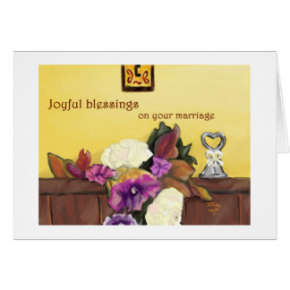 Autumn Wedding card