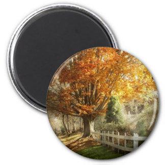 Autumn - Westfield, NJ - I love autumn Fridge Magnet