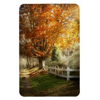 Autumn - Westfield, NJ - I love autumn Flexible Magnet