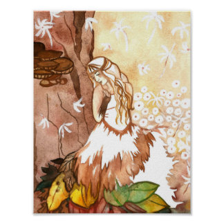 Autumn Whispers Art Poster