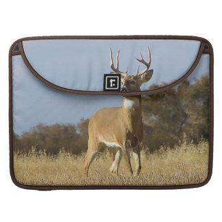 Autumn Whitetail Buck Sleeve For MacBook Pro