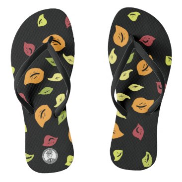 Autumn wind flip flops