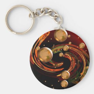 Autumn wind keychain