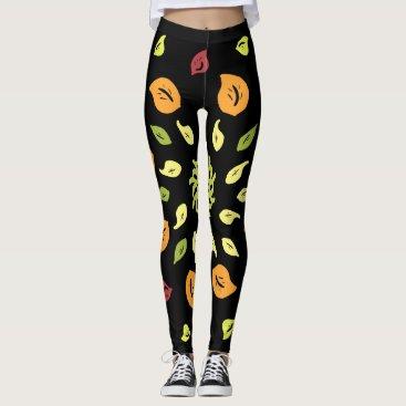 Autumn wind leggings