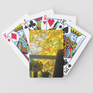 Autumn Window Playing Cards