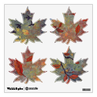 Autumn winds. wall decal