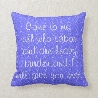 Autumn/Winter Bible Verse Pillow