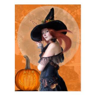 Autumn Witch (Postcard)