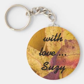 autumn with love.. keychain