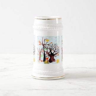 Autumn Wonderland - Beer Stein