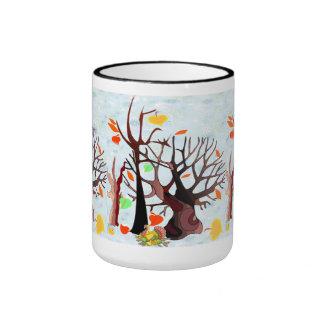 Autumn Wonderland - Ringer Mug