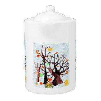 Autumn Wonderland - Teapot